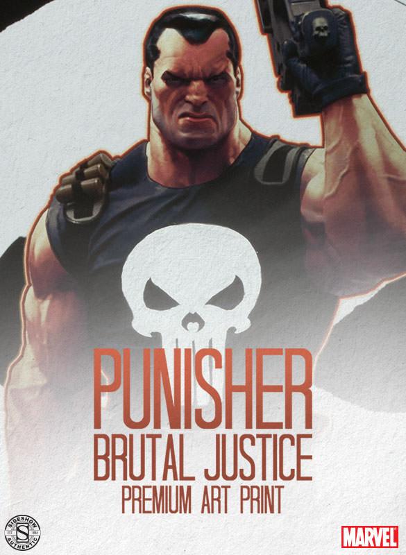 Punisher, Brutal Justice Premium Art Print