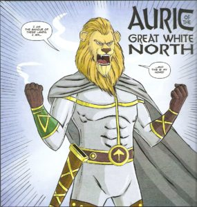 Auric the hero