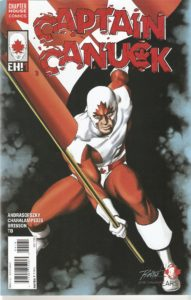 CAPTAIN CANUCK #1 Mike Rooth cover