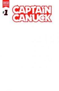 CAPTAIN CANUCK #1 blank variant