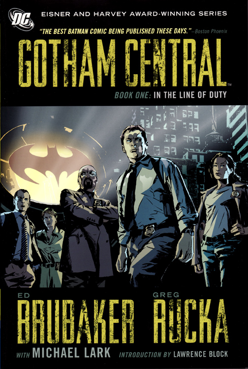 Gotham-Central-Book-One
