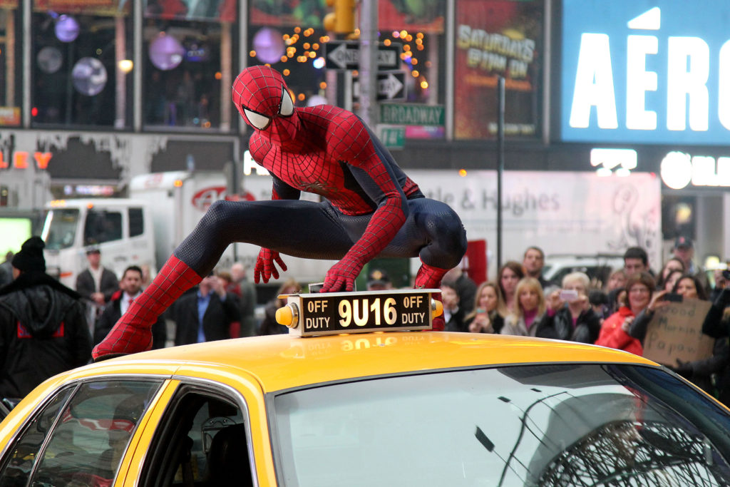 """Spider-Man delivers the debut trailer for Columbia Pictures' """"The Amazing Spider-Man 2,"""" starring Andrew Garfiled and Emma Stone."""