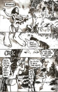 CAVEWOMAN - CASTAWAY pg. 11