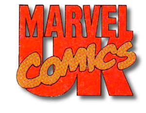 Marvel UK logo 90's