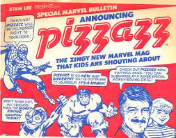 Pizzazz Mag ad groovy