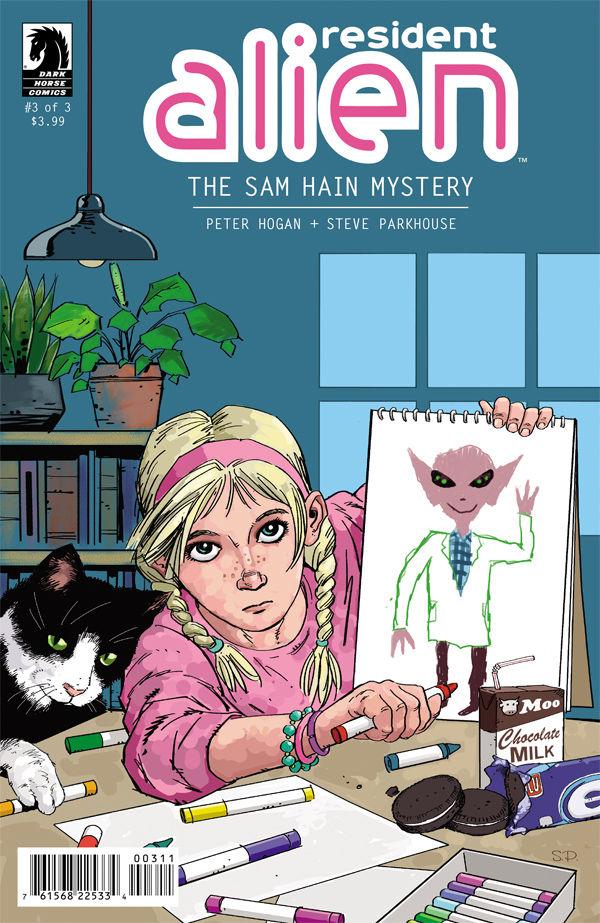 RESIDENT ALIEN- THE SAM HAIN MYSTERY #3