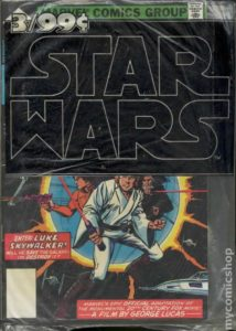 STAR WARS {1st Marvel Series} #1-3 polybagged three for 99 cents