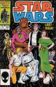 STAR WARS {1st Marvel Series} #107
