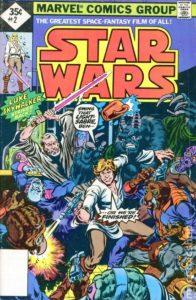 STAR WARS {1st Marvel Series} #2 reprint (2nd printing)