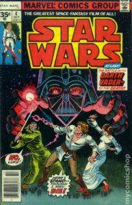 STAR WARS {1st Marvel Series} #4 newsstand 35 cents
