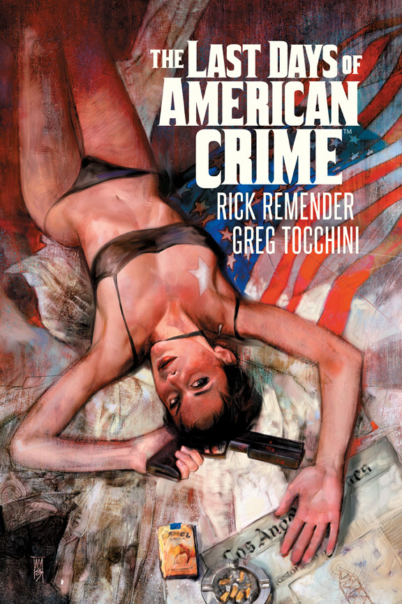The Last Days Of American Crime Oversized