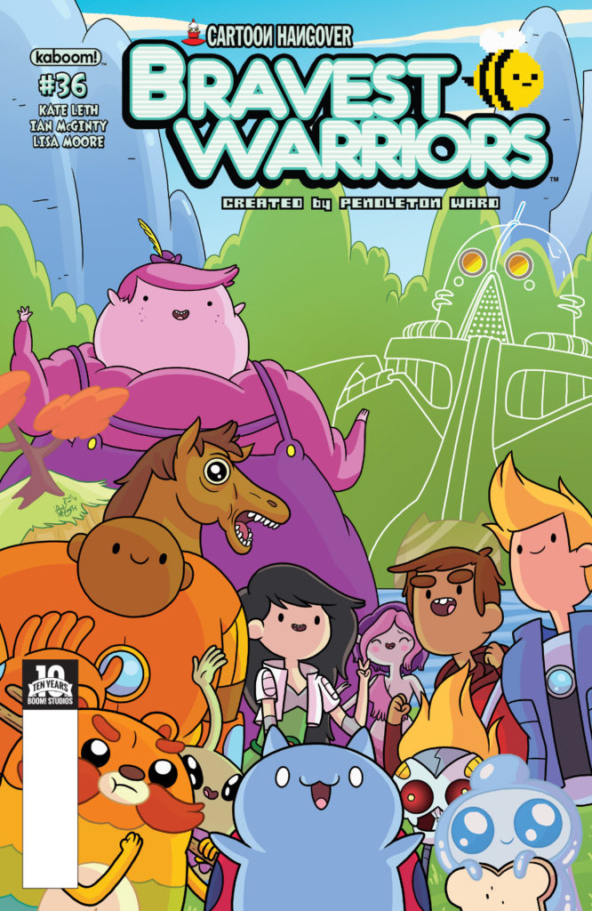 Bravest Warriors #9 Cover A Kaboom
