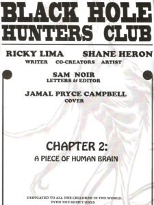 BLACK HOLE HUNTERS CLUB #2 credits