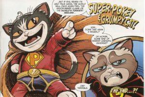 GRUMPY CAT #1 SP & GC take two