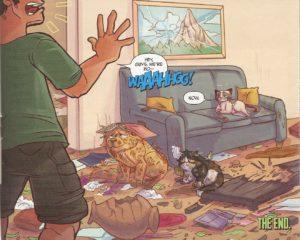 GRUMPY CAT #1 bad pets