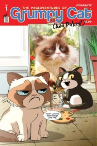 GRUMPY CAT #1 cover E