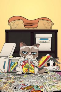 GRUMPY CAT #1 cover J
