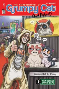 GRUMPY CAT #1 cover K