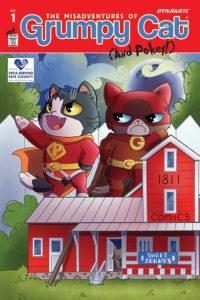 GRUMPY CAT #1 cover M