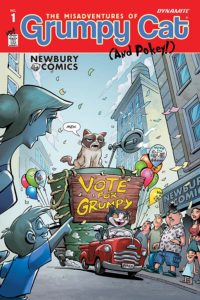 GRUMPY CAT #1 cover T