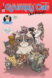 GRUMPY CAT #1 cover U