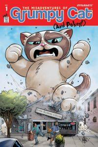 GRUMPY CAT #1 cover V