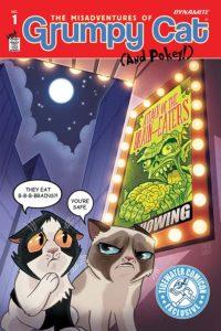 GRUMPY CAT #1 cover X
