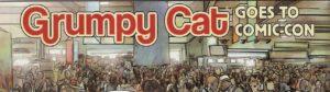 GRUMPY CAT #1 crowd at Comic-Con