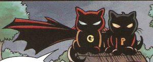 GRUMPY CAT #1 stern silhouettes