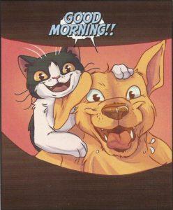 GRUMPY CAT #1 too perky