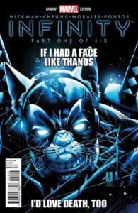 INFINITY #1 Grumpy Cat cover