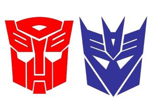 Autobot-Decepticon-Logos