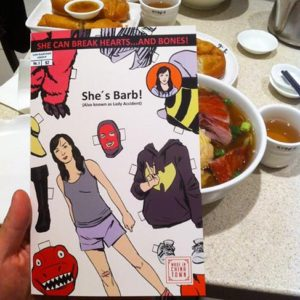 Chinatown mini-comic SHE'S BARB with soup