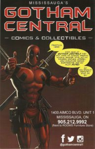 Gotham Central ad 2015 feat. Deadpool