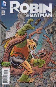 ROBIN, SON of BATMAN #5 monster variant