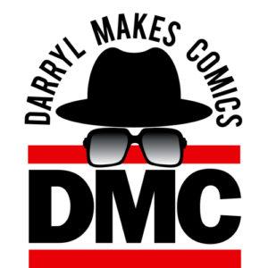 Daryl Makes Comics (DMC) logo
