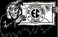 Entertaining Comics (EC) logo - witch