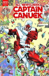 ALL-NEW CLASSIC CAPTAIN CANUCK #1-Mike Rooth Variant