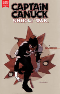 CAPTAIN CANUCK UNHOLY WAR (RE-ISSUE)