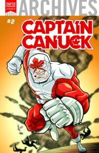 CHAPTERHOUSE ARCHIVES #2 FEATURING CAPTAIN CANUCK