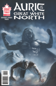 AURIC of the GREAT WHITE NORTH #1 cover B
