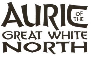 AURIC of the GREAT WHITE NORTH #1 logo (white background)