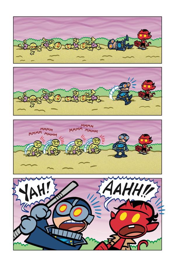 3 д комиксы
