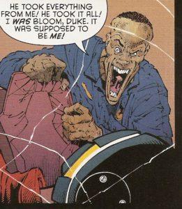 BATMAN #50 Mr. Bloom in the flesh
