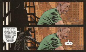 BATMAN #50 balcony bros