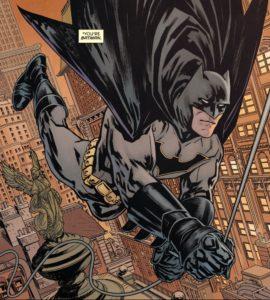 BATMAN #50 swing of things