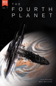 FOURTH PLANET #1 cover B