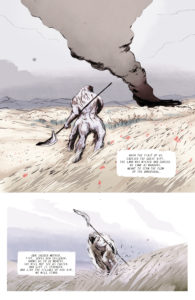 FOURTH PLANET #1 expected arrival pg. 14