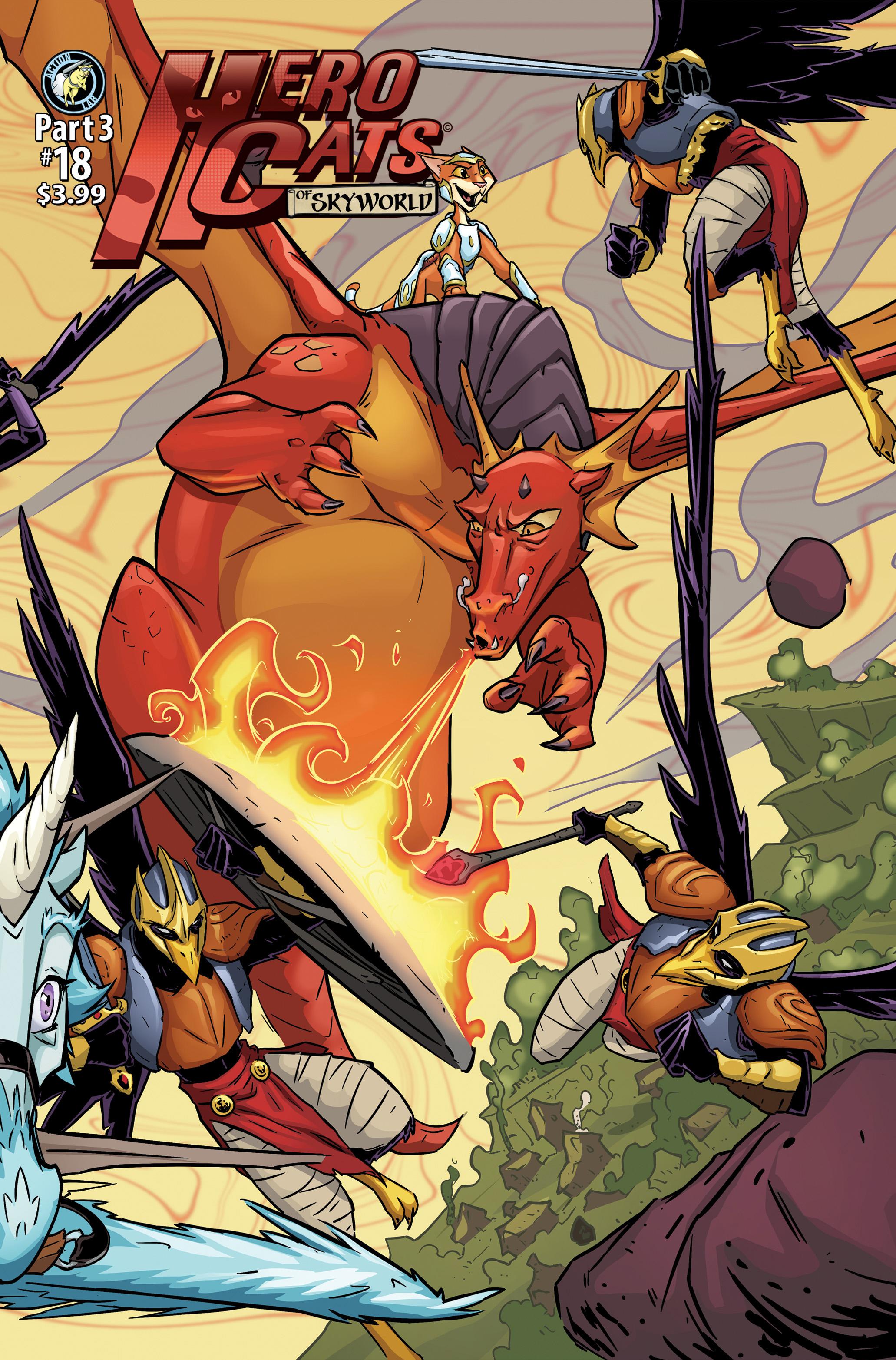 HERO CATS OF SKYWORLD PT. 3 (HERO CATS #18)