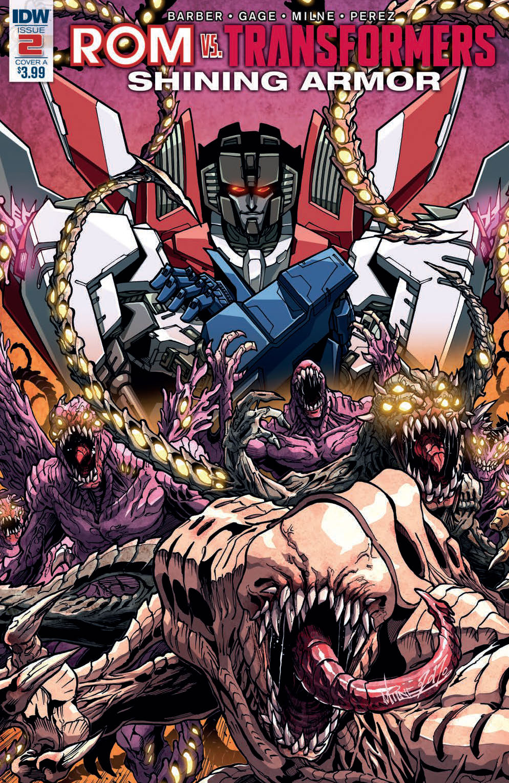Rom Vs. Transformers: Shining Armor #2 (of 5)